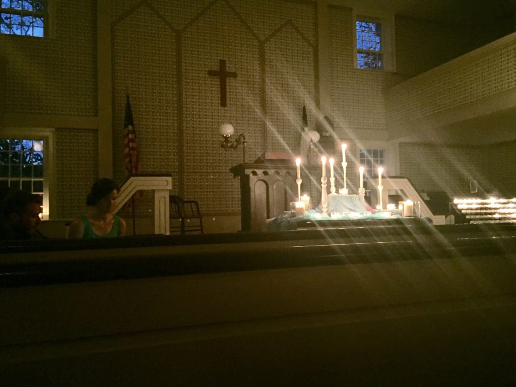 Truro Candlelight Service Summer 2016