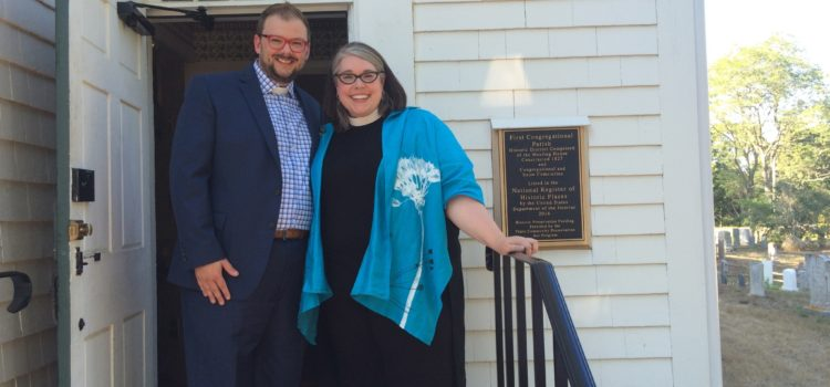 First Parish Welcomes New Ministers